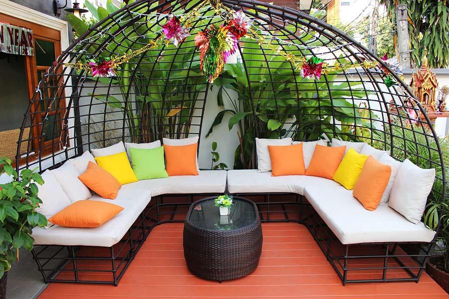 Gartenmöbel für die Terrasse